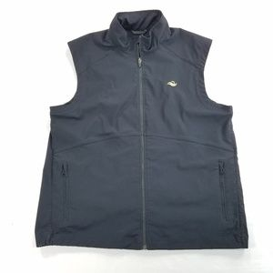 Zero Restriction Zip Up Vest Stretch Jacket Coat